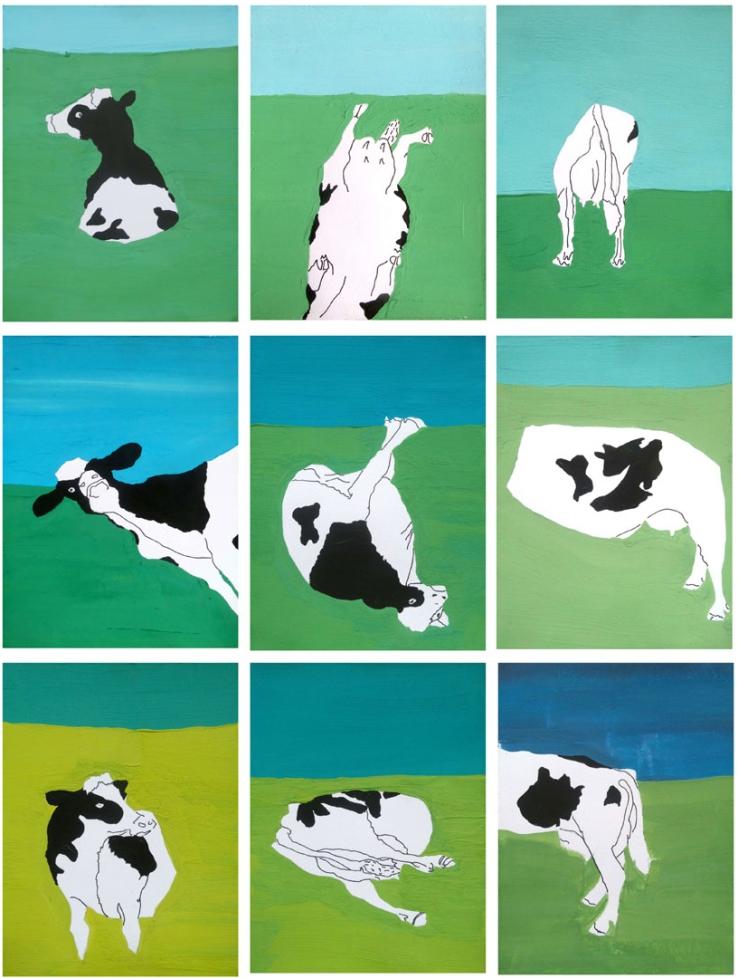 Vignettes vaches - A3 - BD